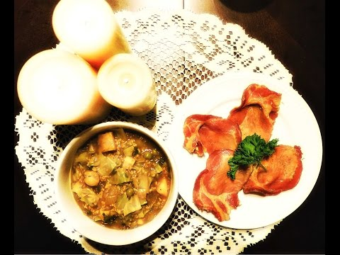 Pottage & Boiled Bacon | Inspiration: Medieval Peasant Meal