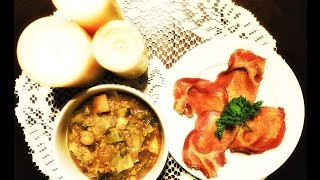Pottage & Boiled Bacon Inspiration: Medieval Peasant Meal YouTube
