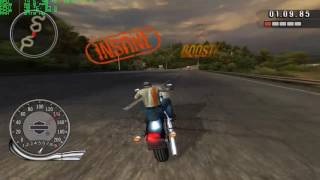 Harley Davidson: Race to the Rally gameplay