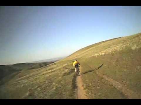 "Single Track Mountain Biking - ""Hard Guy"" trail, Boise Idaho"