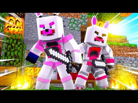Funtime Foxy Plays Bed Wars! Minecraft FNAF Roleplay