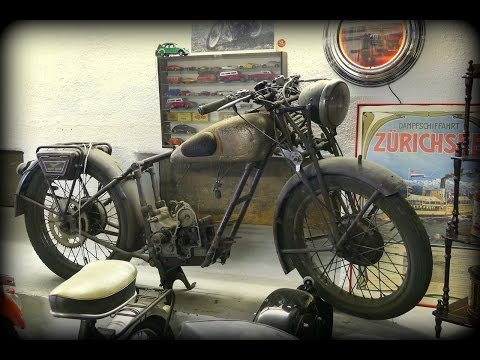 Vintage Motorbike Collection - Barn Find! - American Pickers Dream!!