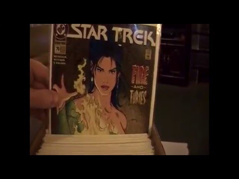My Comic Book Collection: Star Trek Comics