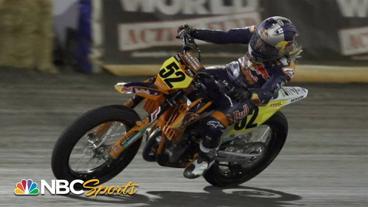 American Flat Track 2019: TEXAS HALF-MILE   EXTENDED HIGHLIGHTS   Motorsports on NBC