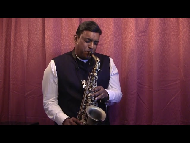 || UNBOXING OF THE KIMAFUN MIC FOR SAXOPHONES & PLAYING A SELECTION OF SONGS || Stanley Samuel ||