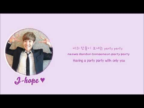 BTS (Bangtan Boys)- Just one day (하루만) lyrics [Eng/Rom/Han/Color Coded]