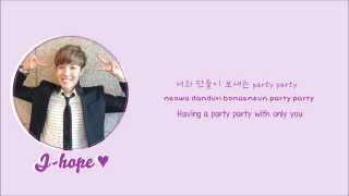BTS (Bangtan Boys)- Just one day (하루만) lyrics [Eng/Rom/Han/Color Coded]