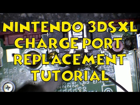 HOW TO: 3DS XL Charge Port Replacement (Full Walkthrough)