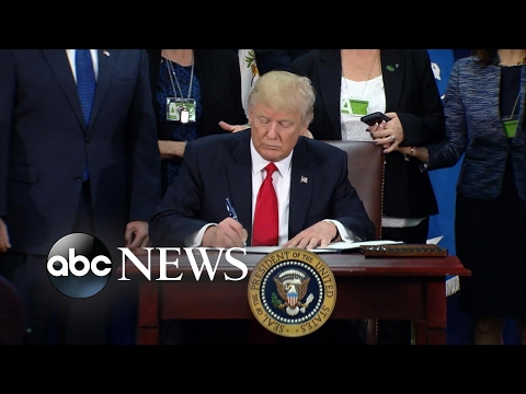 Thumbnail: Trump's first 100 days: Building the Mexico border wall