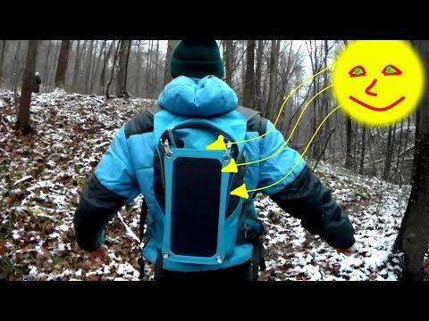 Рюкзак с Солнечной панелью!