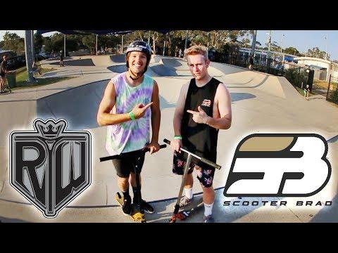Ryan Williams VS Scooter Brad   GAME OF SCOOT