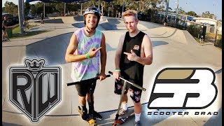 Ryan Williams Vs Scooter Brad | Game Of Scoot
