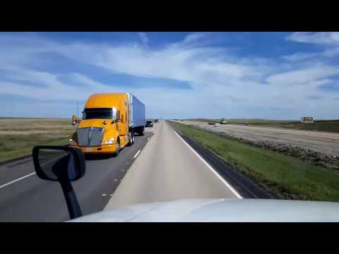 Bigrigtravels Live! Katoka, South Dakota to Sioux Falls  nterstate 90 September 3, 2016