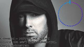 Eminem (feat. Royce da 5'9) | Not Alike | Instrumental | Bass Boosted