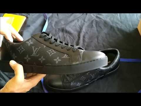 Louis Vuitton Monogram Sneaker Match-Up Eclipse Review Unboxing