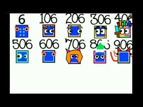 Numberblocks 1-1000 As Icons (New Desings!)