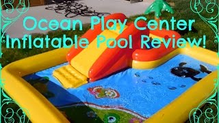 Intex Ocean Play Center Review and Demo!