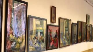 Выставка Юсовой Зинаиды и ее учеников, студентов МГГУ