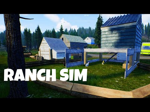 Ranch Simulator Gameplay #1 | The Family Homestead |