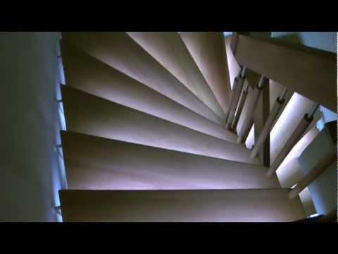 treppenrenovierung und treppenbeleuchtung selbst gemacht doovi. Black Bedroom Furniture Sets. Home Design Ideas