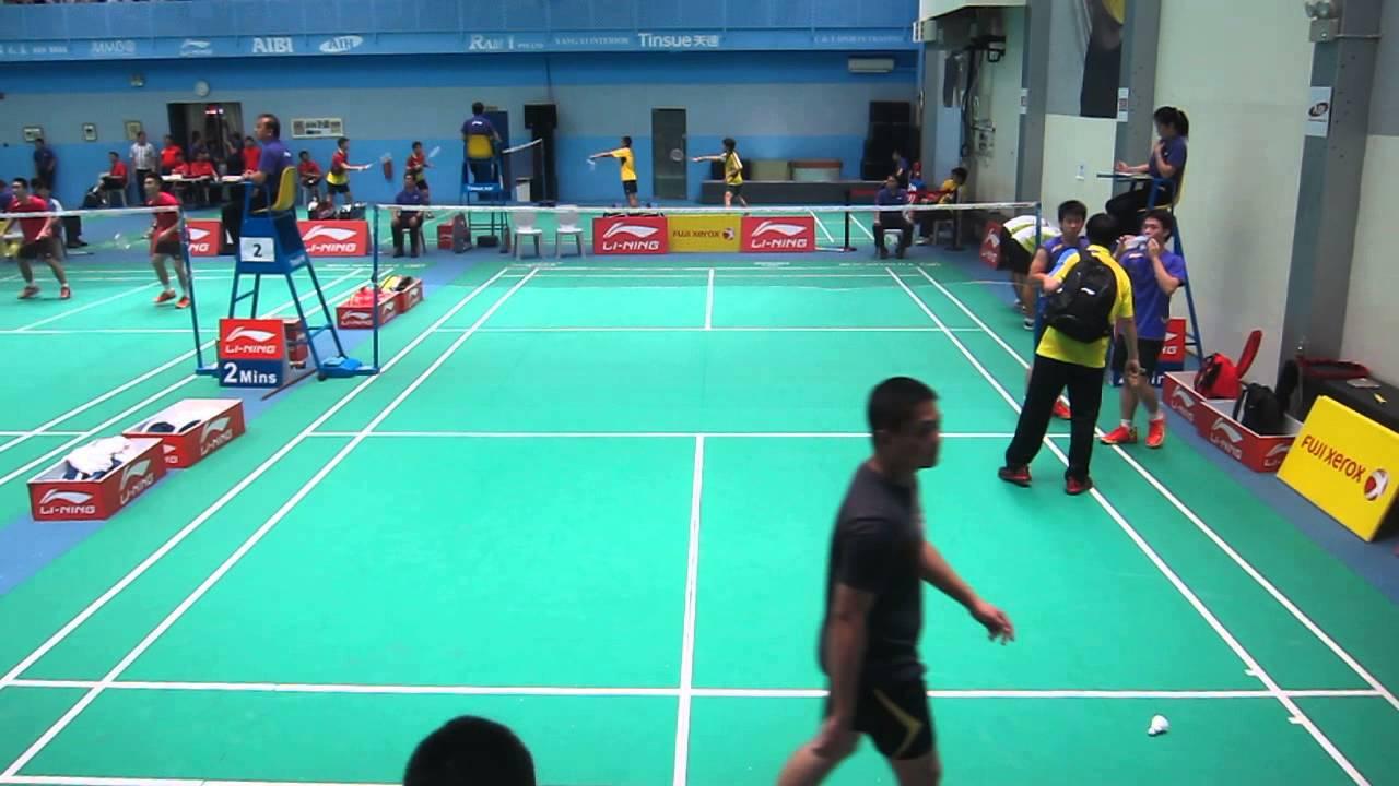Loh Kean Hean & Terry Hee vs Yu Sheng Yu & Chang En Chia TPE