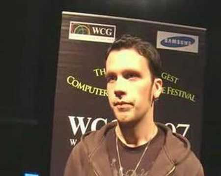 WCG-qualifier: Interview with walle