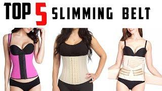 5 Best Slimming Waist Belt - Body Shaper - Slim Waist Shapewear