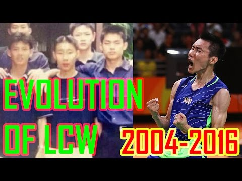12 Years Evolution Of Lee Chong Wei | 2004-2016
