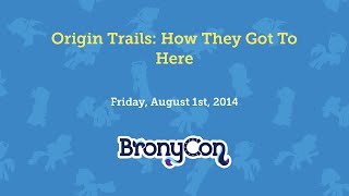 Origin Trails: How They Got To Here