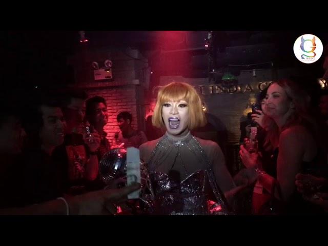Sunday Gay Night at Maggie Choo's Disco Balls Theme Jaja TheKween I LOVE THE NIGHT LIFE