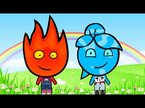FIREJU & WATERCRIS (Fireboy and Watergirl)