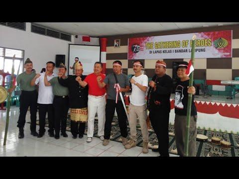 Cara Unik Lapas Kelas I Bandar Lampung Dalam Memperingati Hari Pahlawan