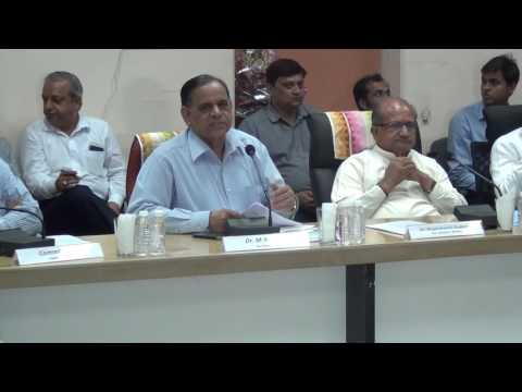 Vice Chancellor's round table for developing University start-up framework for Gujarat