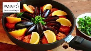 Паэлья – рецепт испанской кухни. Попробуйте приготовить.