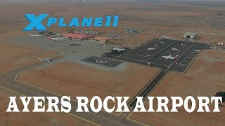 X-Plane 11 Review - Ayers Rock (Connellan) Airport