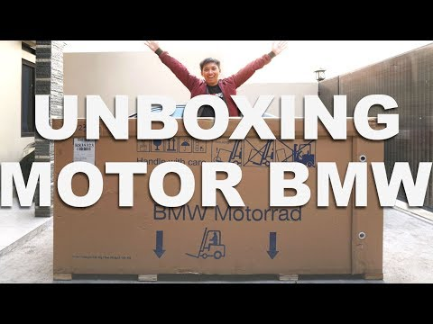 UNBOXING MOTOR BMW