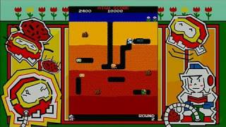 Dig Dug Xbox Live Gameplay - Gameplay (HD)