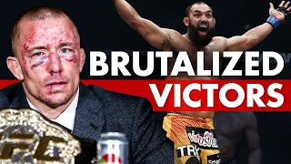 10 Fighters Who Actually Brutalized Their Victors
