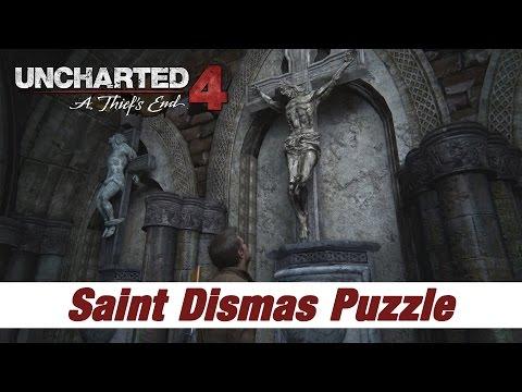 Uncharted 4 | Saint Dismas Puzzle | Avery Grave | Chapter 8