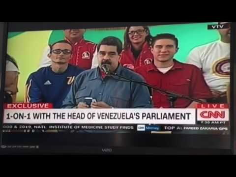 Julio Borges Interview on CNN, Sunday July 23. President of Venezuelan National Assembly.