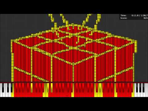 Dark MIDI - Jingle Bells - 400,000 NOTES!!!