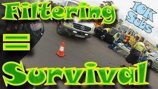 Legal Lane Splitting/Filtering in Sydney | Safety First | 10K Subs | ++ Vlog ++