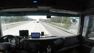 화물차 고속도로 주행영상 (경주휴게소에서 언양분기점)V…