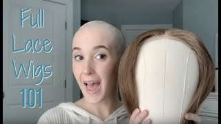How I put my full lace wigs on! | Alopecia