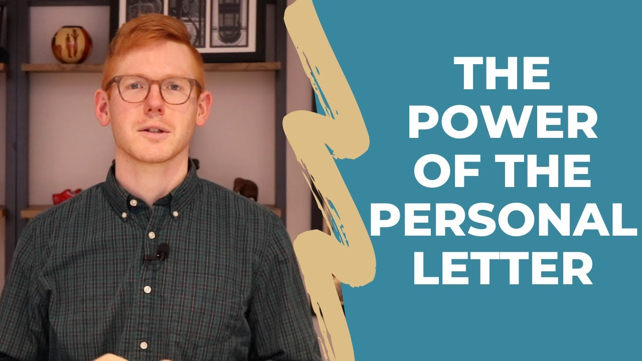 The Power of the Personal Letter When Buying A Home