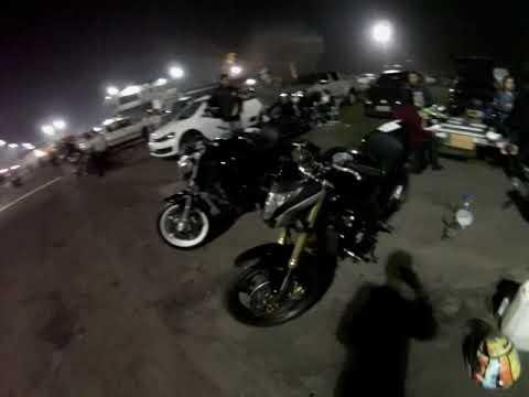 Racha Tarumã Noite Das Motos 03/08/18 + Equipe Arte Equilíbrio 🚀🔥