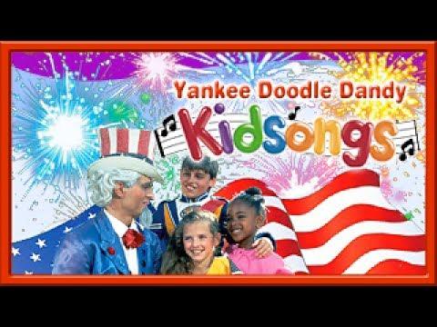 July 4th Song for Kids   Fireworks Yankee Doodle Dandy  Patriotic Kids Songs  Kidsongs  PBS KId