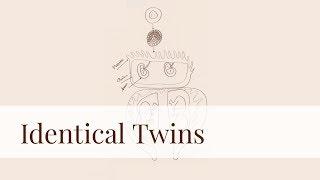 how to draw IDENTICAL TWINS...طريقة رسم توائم متماثلة