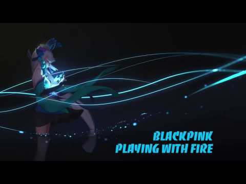 Nightcore - Playing With Fire (Black Pink)