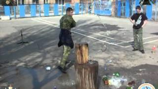 Обучение рубке шашкой в Казачьей гимназии 2011 г..mpg